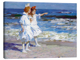 Canvas print  Girls on the beach - Edward Henry Potthast