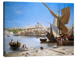 Canvas print  Constantinople - Jacques Carabain