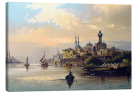 Canvas print  Purchase ships on the Bosporus - Karl Kaufmann