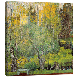 Canvas print  The Neskuchny garden in Moscow