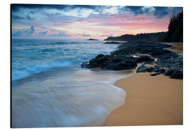 Aluminium print  Kauai at dawn - Dennis Flaherty