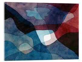 Acrylic glass  Mountain and Air Synthetic - Paul Klee