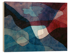 Wood  Mountain and Air Synthetic - Paul Klee
