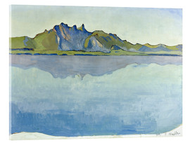 Acrylic print  Lake Thun with Stockhorn chain - Ferdinand Hodler