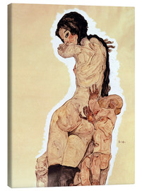 Canvas  Mother and Child - Egon Schiele
