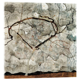 Egon Schiele - Autumn tree in the wind