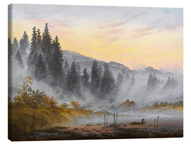 Canvas print  The morning - Caspar David Friedrich
