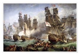 Poster  The Battle of Trafalgar
