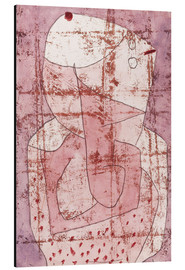 Aluminium print  Swiss clown - Paul Klee