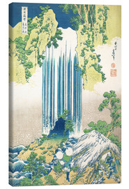 Canvas  The Yoro waterfall in Mino Province - Katsushika Hokusai