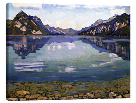 Canvas  Lake Thun - Ferdinand Hodler