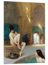 Foam board print  Women at the Roman baths - Jean Leon Gerome