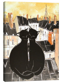 Canvas print  Cats love - JIEL
