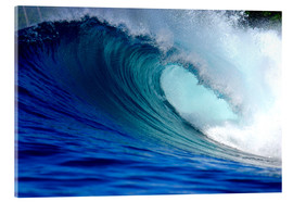 Acrylic print  Big blue wave - Paul Kennedy