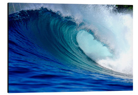 Alu-Dibond  Big blue wave - Paul Kennedy
