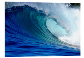 Paul Kennedy - Big blue tropical island surfing wave