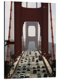 Aluminium print  Golden Gate Bridge - Marcel Schauer