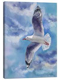 Canvas print  Seagull - Jitka Krause