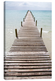 Canvas print  Jetty - Walter Quirtmair