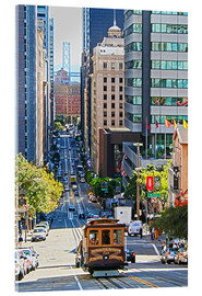 Acrylic print  San Francisco Downtown - Marcel Schauer
