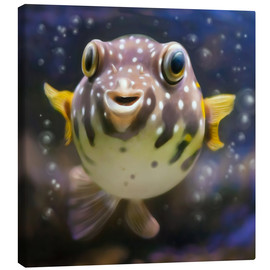 Canvas print  fugu the bowlfish - Photoplace Creative