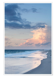 Premium poster  Sylt, sunset at the beach - Markus Lange