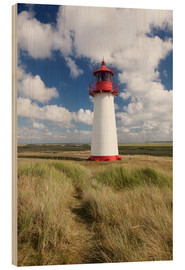 Wood print  Sylt, lighthouse - Markus Lange