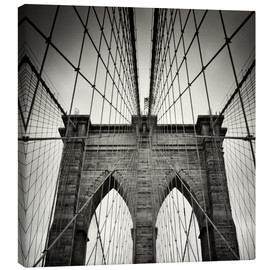 Canvas print  Brooklyn Bridge, New York City - Alexander Voss