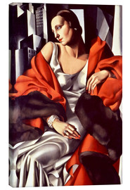 Canvas print  Portrait of Mrs. Boucard - Tamara de Lempicka