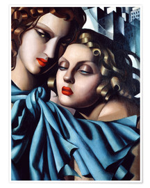 Premium poster  The girls - Tamara de Lempicka