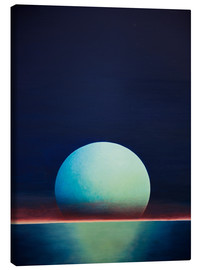 Canvas print  Moon I - Gerhard Kraus
