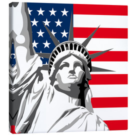 Canvas  statue of liberty - coico