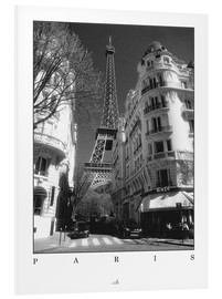 Foam board print  Paris - ARTSHOT - Photographic Art