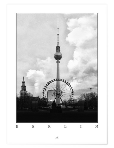 Premium poster Berlin - Television Tower