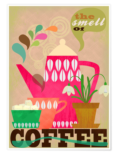 Premium poster The smell of coffee