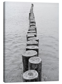 Canvas print  Breakwater - HADYPHOTO