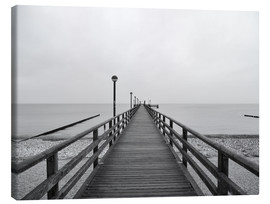 Canvas print  Pier Baltic Sea - HADYPHOTO
