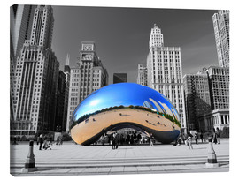Canvas print  Chicago Bean - HADYPHOTO