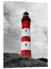 Acrylic print  Lighthouse in Amrum, Germany - HADYPHOTO by Hady Khandani