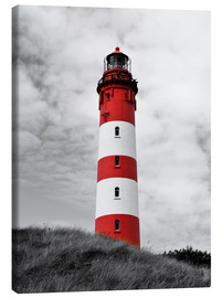 Canvas print  Lighthouse in Amrum, Germany - HADYPHOTO by Hady Khandani