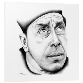 Foam board print  Fernandel is Don Camillo - Stefan Kahlhammer