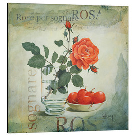 Aluminium print  Dream Rose - Franz Heigl