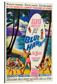 Aluminium print  Blue Hawaii