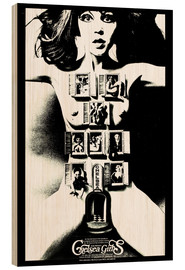 Wood print  CHELSEA GIRLS