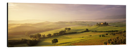 Aluminium print  Orcia Valley at sunrise - Markus Lange