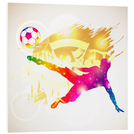 Foam board print  Soccer Player - TAlex