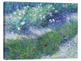 Canvas print  Butterflies and Flowers - Vincent van Gogh