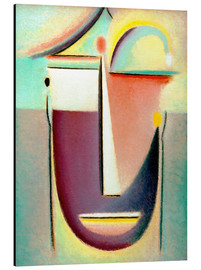 Aluminium print  Abstract head: Archetype - Alexej von Jawlensky