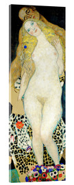 Acrylic print  Adam and Eve - Gustav Klimt