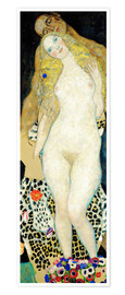 Premium poster  Adam and Eve - Gustav Klimt